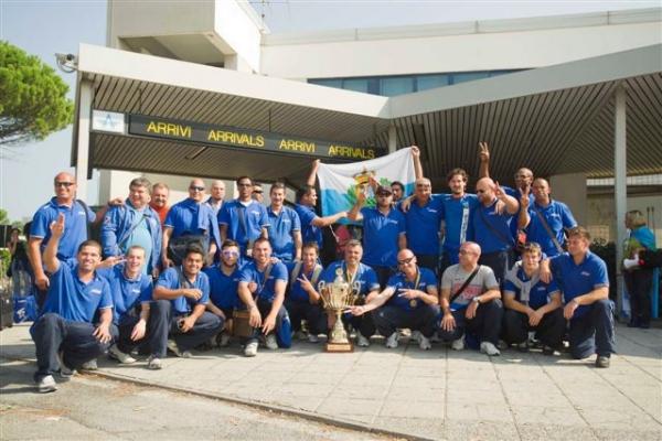 Il rientro dei Campioni d' Europa 2011